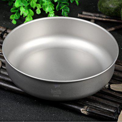 Keith KT338 900mL Lightweight Titanium Bowl