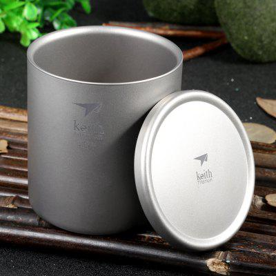 Tazza in Titanio Keith Ti3302