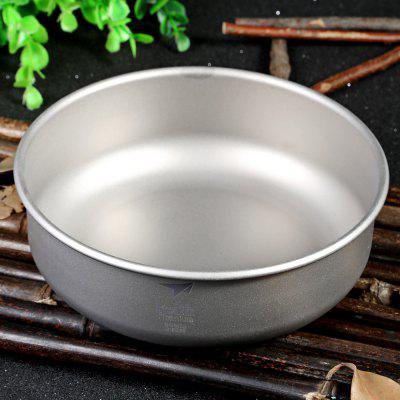 Keith KT335 600mL Lightweight Titanium Bowl