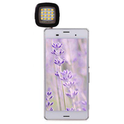 External Phone Flash LED Fill Light Universal Phone and Tablet