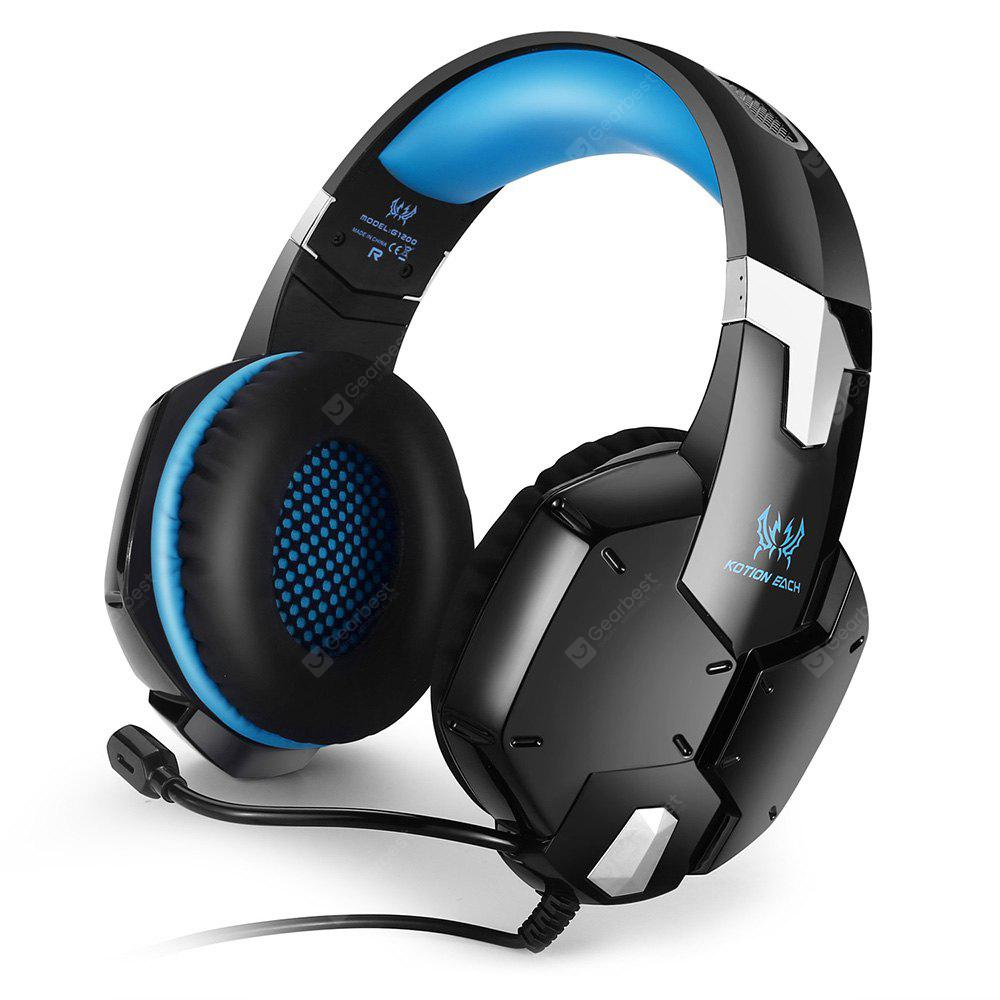 KOTION EACH G1200 Lightweight Gaming Headsets With Mic - $16.16 Free Shipping