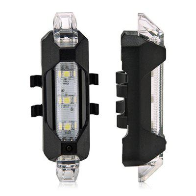 Water Resistant USB Rechargeable LED Bike Tail Light