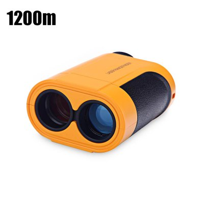 KXL - Q1200 1200m Golf Laser Rangefinder 6X Magnification Sports Focus Eyepiece with 4 Modes