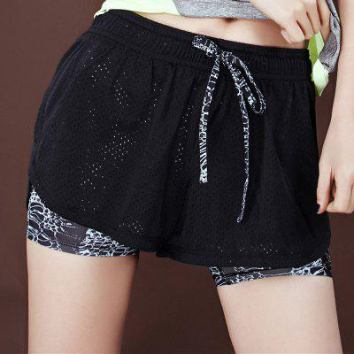 Women Loose-fitting Yoga Short Pants for Exercising