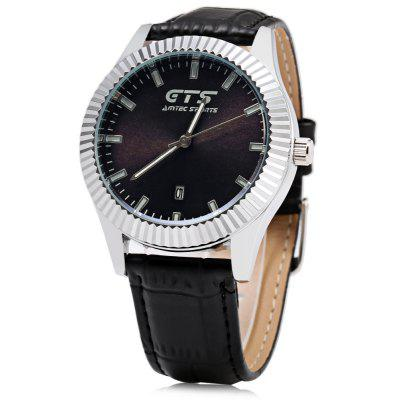 GTS 5493 Unisex Quartz Watch 3ATM  Date Creative Pattern