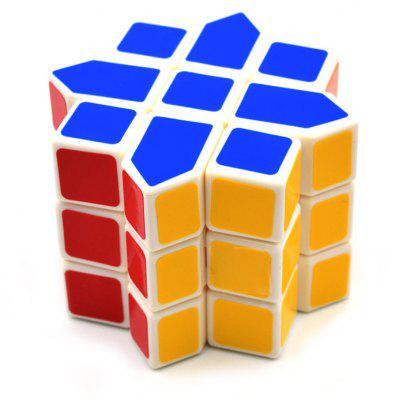 DECAKER Twist Magic Cube Octagon Star Shape Brain Teaser 3 Layer Educational Toy