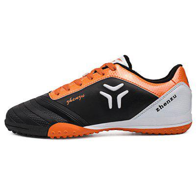 Zhenzu Lace-up Anti-slip Design Soccer Shoes for ManAthletic Shoes<br>Zhenzu Lace-up Anti-slip Design Soccer Shoes for Man<br><br>Closure Type: Lace-Up<br>Color: Black,Blue,Green,Red<br>Features: Anti-slip, Lightweight, Durable, Crashworthy<br>Gender: Men<br>Package Contents: 1 x Pair of Zhenzu Sneakers<br>Package size: 40.00 x 25.00 x 10.00 cm / 15.75 x 9.84 x 3.94 inches<br>Package weight: 0.930 kg<br>Product weight: 0.800 kg<br>Size: 40,41,42,43,44<br>Sole Material: Rubber
