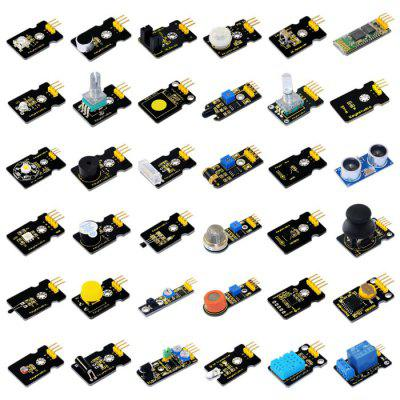 Keyestudio 36PCS Basic Sensor Module Kit Electronic Part for Arduino Lovers