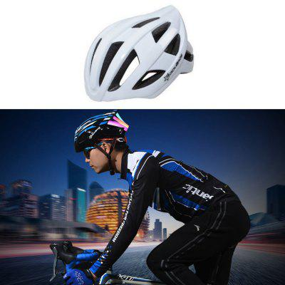 ROCKBROS TT - 3BBK USB LED Flash Light Bicycle Cycling Helmet