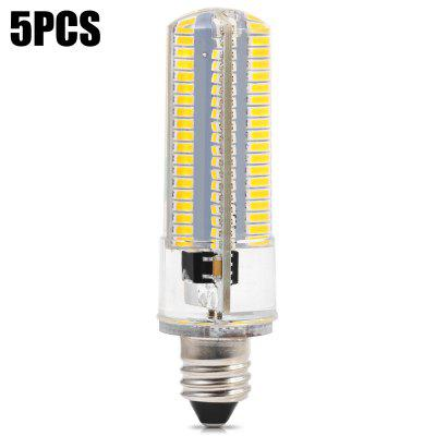 5 x BRELONG 900Lm E11 10W 152 SMD3014 LED Corn Light Dimming