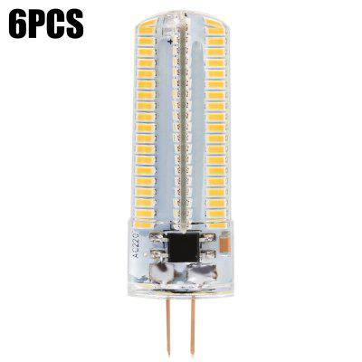 6 x BRELONG 900Lm G4 10W 152 SMD3014 Dimming LED Corn Light
