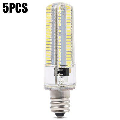 5pcs BRELONG E12 900Lm 10W 152 x SMD3014 Dimmable LED Corn Bulb