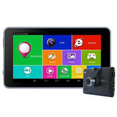 TiaiwaiT A70-16GB-AVIN 1080P 140 Degree DVR Camera Car GPS Navigation