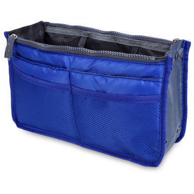 Guapabien Practical Polyamide Mesh Double Zipper Storage Bag