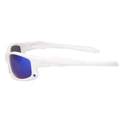 9003P4 Unisex Sport Glasses Polarized SunglassesCycling Sunglasses<br>9003P4 Unisex Sport Glasses Polarized Sunglasses<br><br>Frame Color: White<br>Lens Color: Blue<br>Lens height: 4.3 cm<br>Lens width: 6 cm<br>Model Number: 9003P4<br>Nose bridge width: 1.5 cm<br>Package Contents: 1 x Sport Glasses, 1 x Glasses Box, 1 x Glasses Cloth<br>Package Size(L x W x H): 15.50 x 6.00 x 5.00 cm / 6.1 x 2.36 x 1.97 inches<br>Package weight: 0.098 kg<br>Product Size(L x W x H): 14.80 x 4.30 x 4.00 cm / 5.83 x 1.69 x 1.57 inches<br>Product weight: 0.028 kg<br>Suitable for: Hiking, Traveling, Beach, Camping, Cycling, Mountaineering