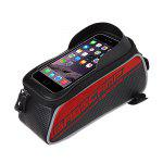 Touch Screen Mobile Bag Folding Mountain Bike Bags Front Tube Frame Bag B-soul
