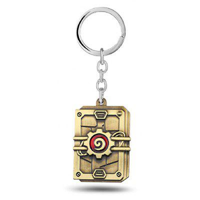 Keyring Weapon Model Pendant Decoration Alloy Key Chain