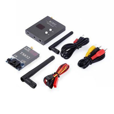 TS832 40CH 600MW FPV 5.8G AV Transmitter RC832 Receiver for RC Quadcopter
