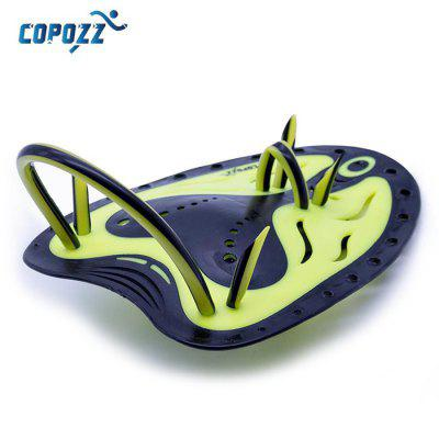 COPOZZ Professional Webbed Gloves Silicone Hand Paddle