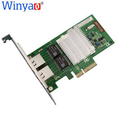 Winyao WYI350 - T2 10 / 100 / 1000Mbps Ethernet Network Card