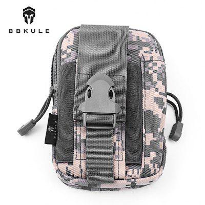 BBKULE 12L Nylon Tactical Waist Leg Pack for Outdoor Cycling