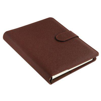 Deli A5 8.5 inch PU Stationery Leather Classical NotebookNotebooks &amp; Pads<br>Deli A5 8.5 inch PU Stationery Leather Classical Notebook<br><br>Brand: Deli<br>Package Contents: 1 x Deli Classical Notebook<br>Package size (L x W x H): 24.00 x 19.00 x 4.00 cm / 9.45 x 7.48 x 1.57 inches<br>Package weight: 0.497 kg<br>Product size (L x W x H): 23.50 x 18.50 x 3.50 cm / 9.25 x 7.28 x 1.38 inches<br>Product weight: 0.070 kg