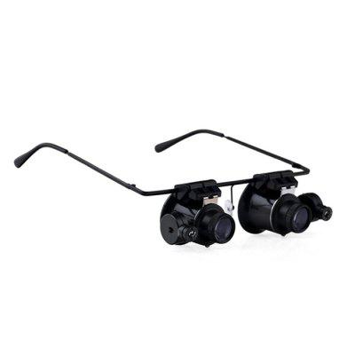 BIJIA 20X Lightweight Magnifier with 2 LED LightsBinoculars and Telescopes<br>BIJIA 20X Lightweight Magnifier with 2 LED Lights<br><br>Amplification Factor: 20X<br>Brand: BIJIA<br>Color: Black<br>For: Bird watching, Boating/Yachting, Outdoor activities, Beach<br>Package Contents: 1 x BIJIA 20X Magnifying Glasses<br>Package size (L x W x H): 16.00 x 16.00 x 4.00 cm / 6.3 x 6.3 x 1.57 inches<br>Package weight: 0.123 kg<br>Product size (L x W x H): 17.20 x 14.80 x 1.50 cm / 6.77 x 5.83 x 0.59 inches<br>Product weight: 0.053 kg<br>Type: Binoculars