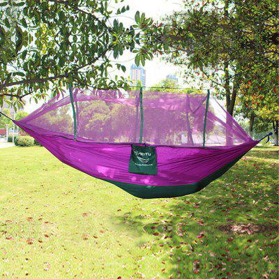 aotu at6730 2 person hammock email only aotu at6730 2 person parachute nylon fabric hammock   21 85 online      rh   gearbest