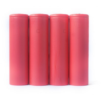 4 x NCR18650GA 3500mAh 10A 4.2V 18650 Rechargeable Li-ion Battery