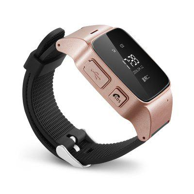 Deest D99 Elder Smartwatch PhoneSmart Watch Phone<br>Deest D99 Elder Smartwatch Phone<br><br>Additional Features: Alarm, 2G, Notification, Sound Recorder, Waterproof<br>Battery: 400mAh Built-in<br>Bluetooth Version: No<br>Brand: Deest<br>Camera type: No camera<br>Cell Phone: 1<br>Certificate: CE<br>Compatible OS: IOS, Android<br>CPU: MTK6261<br>External Memory: Not Supported<br>Frequency: GSM850/900/1800/1900MHz<br>Functions: Message, Pedometer<br>GPS: Yes<br>Languages: Polish, Vietnamese, Turkish, Arabic, Norwegian, German, French, Spanish, Portuguese, Italian, Rassian, Chinese<br>Micro USB Slot: Yes<br>Network type: GSM<br>Package size: 9.20 x 9.20 x 9.20 cm / 3.62 x 3.62 x 3.62 inches<br>Package weight: 0.2100 kg<br>Product size: 0.35 x 0.60 x 0.13 cm / 0.14 x 0.24 x 0.05 inches<br>Product weight: 0.0430 kg<br>RAM: 32MB<br>ROM: 32MB<br>Screen type: OLED<br>Screw: 4<br>Screwdriver: 1<br>SIM Card Slot: Single SIM(Micro SIM slot)<br>Speaker: Supported<br>Type: Watch Phone<br>USB Cable: 1<br>User Manual: 1<br>Wireless Connectivity: GPS, GSM