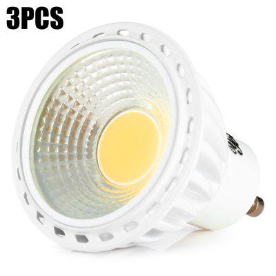 3pcs YouOKLight COB GU10 6W 400Lm LED Spot Bulb Light