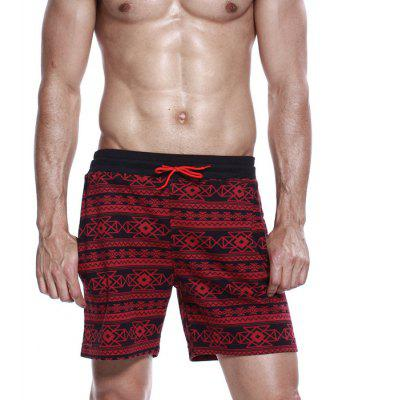 SEOBEAN Pure Cotton Short Beach Pants for Male