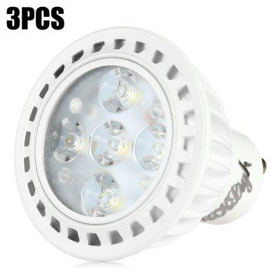 3pcs YouOKLight 5 x SMD2835 GU10 5W 330Lm LED Light Bulb