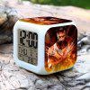 7 Color Change Anime Pattern Digital Alarm Clock LED Night Light Anime Product Children Birthday Gift - COLORMIX