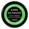 Prebuilt Kanthal A1 Mix Twisted Coil - SILVER