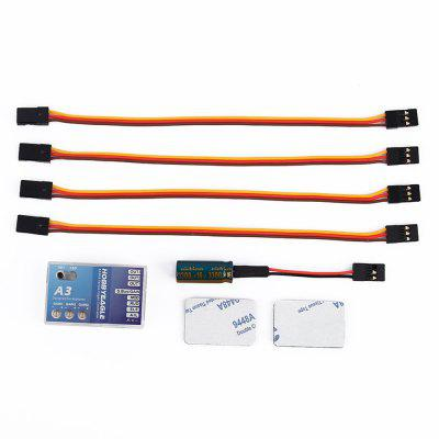 A3 Flight Controller 6 Axis Gyro Balance Apparatus for Eagle RC Fixed-wing Copter