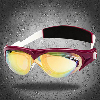 ZOKE Adults Anti-fog Plating Swimming Glasses