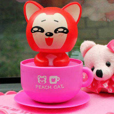 Solar Energy Cat Cartoon Shaking Toy
