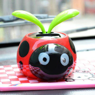 Solar Energy Insect Cartoon Figure Shaking Toy
