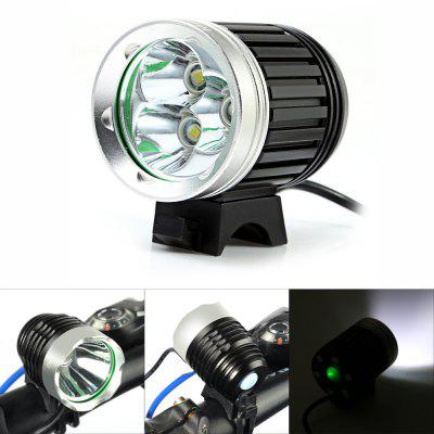 Marsing MS - 03 2500Lm Cree XML T6 3 LED Bicycle Light SetBike Lights<br>Marsing MS - 03 2500Lm Cree XML T6 3 LED Bicycle Light Set<br><br>Best Use: Backpacking,Camping,Climbing,Hiking<br>Brand: Marsing<br>Color: Black<br>Features: Superbright, Low Power Consumption, Easy to Install<br>LED Quantity: 3 LED<br>Luminance: 2000 - 2500 lumens<br>Material: Aluminum Alloy<br>Model Number: MS-03<br>Package Contents: 1 x Marsing MS-03 Bicycle Light, 4 x 18650 Lithium Battery, 1 x Battery Bag, 2 x Rubber Ring, 1 x Power Adapter<br>Package Dimension: 23.00 x 8.50 x 8.50 cm / 9.06 x 3.35 x 3.35 inches<br>Placement: Handlebar<br>Product Dimension: 5.50 x 4.30 x 4.30 cm / 2.17 x 1.69 x 1.69 inches<br>Product weight: 0.125 kg<br>Suitable for: Electric Bicycle, Mountain Bicycle, Road Bike, Touring Bicycle, Fixed Gear Bicycle, Motorcycle<br>Type: Front Light<br>Working Time: 4 - 5 hours