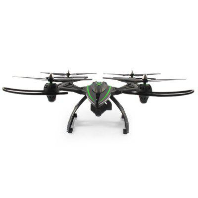 JXD 506W 2.4GHz 4 Channel 6 Axis Gyro RC Quadcopter RTFRC Quadcopters<br>JXD 506W 2.4GHz 4 Channel 6 Axis Gyro RC Quadcopter RTF<br><br>Battery: 7.4V 2000mAh Built-in rechargeable battery<br>Brand: JXD<br>Built-in Gyro: 6 Axis Gyro<br>Camera Pixels: 2.0MP<br>Channel: 4-Channels<br>Charging Time.: 1<br>Control Distance: 100-300m<br>Detailed Control Distance: 150m<br>Flying Time: 10-13mins<br>Functions: Air Press Altitude Hold, With light, WiFi Connection, Up/down, Turn left/right, 3D rollover, Slow down, One Key Automatic Return, Headless Mode, Forward/backward, Speed up<br>Kit Types: RTF<br>Level: Intermediate Level<br>Material: Plastic, Electronic Components<br>Mode: Mode 2 (Left Hand Throttle)<br>Model: 506W<br>Model Power: Built-in rechargeable battery<br>Motor Type: Brushed Motor<br>Night Flight: Yes<br>Package Contents: 1 x Quadcopter, 1 x Transmitter, 1 x Battery, 1 x Power Adapter, 4 x Blade Protector, 2 x Landing Gear, 1 x Charger, 1 x USB Cable, 1 x English Manual, 1 x Camera, 1 x 4GB SD Card, 1 x Card Reader<br>Package size (L x W x H): 35.00 x 35.00 x 14.00 cm / 13.78 x 13.78 x 5.51 inches<br>Package weight: 1.900 kg<br>Product size (L x W x H): 39.00 x 39.00 x 15.00 cm / 15.35 x 15.35 x 5.91 inches<br>Product weight: 0.550 kg<br>Radio Mode: Mode 2 (Left-hand Throttle)<br>Remote Control: 2.4GHz Wireless Remote Control<br>Transmitter Power: 4 x 1.5V AA battery(not included)<br>Type: Quadcopter