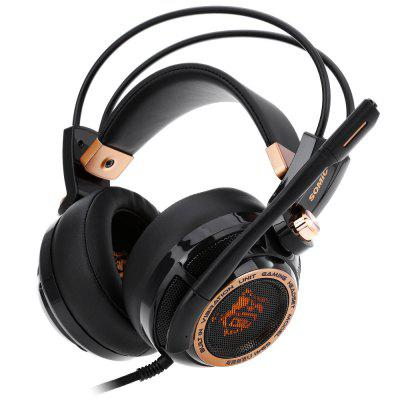 Somic G941 Active Noise Cancelling USB Gaming Headset - BLACK