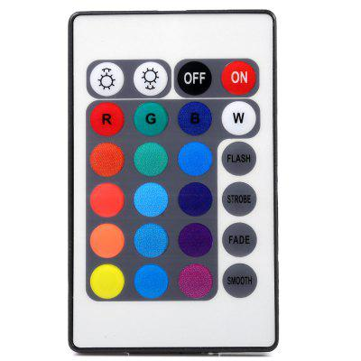 BRELONG 6A IR Remote Controller for RGB Strip LightLED Accessories<br>BRELONG 6A IR Remote Controller for RGB Strip Light<br><br>Accessory type: String Controller<br>Available Color: Colorful<br>Brand: BRELONG<br>Features: Remote Control, Infrared Sensor<br>Output Current: 6A<br>Package Contents: 1 x BRELONG Remote Controller, 1 x IR Controller, 1 x English Manual<br>Package size (L x W x H): 10.00 x 7.00 x 1.50 cm / 3.94 x 2.76 x 0.59 inches<br>Package weight: 0.035 kg<br>Product size (L x W x H): 9.00 x 6.00 x 0.50 cm / 3.54 x 2.36 x 0.2 inches<br>Product weight: 0.010 kg