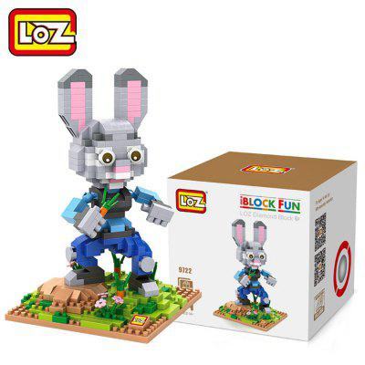 LOZ 560Pcs ABS Cartoon Animal Image Building Block Educational Decoration Toy for Spatial Thinking