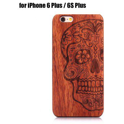Wooden Phone Back Case Protector for iPhone 6 Plus / 6S Plus