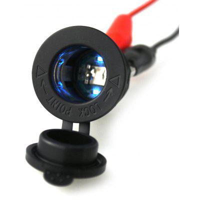 IZTOSS C866 Power Charge Socket 12 - 24V w/ Blue LED Light