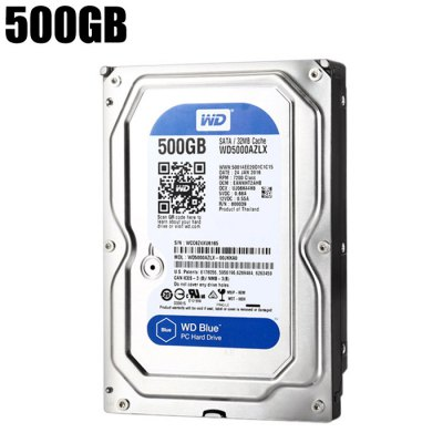 WD 500GB HDD 32MB Hard Disk SATA Interface