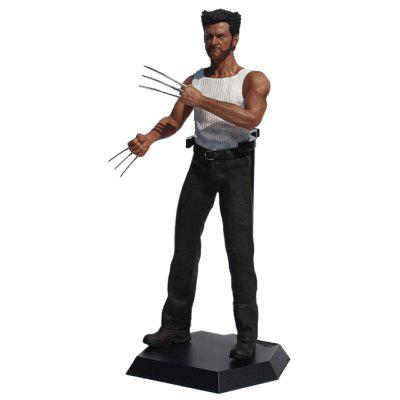 Hero Action Figure Anime Character Model with Metal Claw Home Office Decor   15.7 inch 181712401