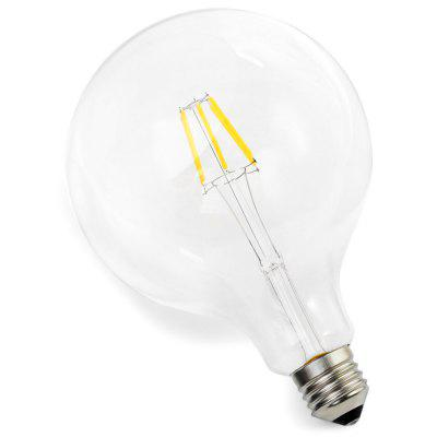 BRELONG E27 6W COB 650LM G125 LED Edison BulbEdison Bulbs<br>BRELONG E27 6W COB 650LM G125 LED Edison Bulb<br><br>Available Light Color: Warm White<br>Brand: BRELONG<br>CCT/Wavelength: 2300-2700K<br>Emitter Types: COB<br>Features: Retro Edison Style, Long Life Expectancy, Energy Saving<br>Function: Studio and Exhibition Lighting, Home Lighting, Commercial Lighting<br>Holder: E27<br>Lifespan: 30000h<br>Luminous Flux: 650Lm<br>Output Power: 6W<br>Package Contents: 1 x BRELONG LED Edison Bulb<br>Package size (L x W x H): 13.50 x 13.50 x 18.00 cm / 5.31 x 5.31 x 7.09 inches<br>Package weight: 0.143 kg<br>Product size (L x W x H): 12.50 x 12.50 x 17.00 cm / 4.92 x 4.92 x 6.69 inches<br>Product weight: 0.093 kg<br>Sheathing Material: Glass<br>Total Emitters: 6<br>Type: Edison Bulb<br>Voltage (V): AC 220-240