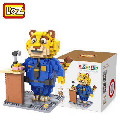 LOZ 700Pcs ABS Cartoon Animal Image Building Block Educational Decoration Toy for Spatial Thinking